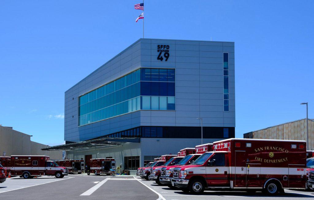 San Francisco Fire Department Ambulance Deployment Facility